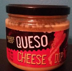 Trader Joe's Queso Cheese Dip Queso Cheese, Milk And Cheese, Trader Joe's, Sauces, Dips, Stuffed Peppers, Heart, Food, Stuffed Pepper