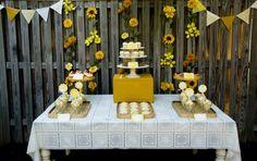 design baby room gazee: Sunshine 1st Birthday Party