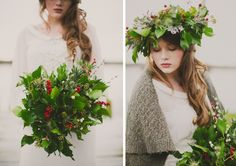 Inspiration for a whimsical winter wedding