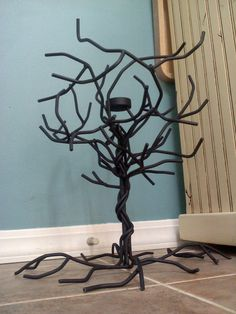 Steel Tree by DixonFabrications on Etsy, $50.00
