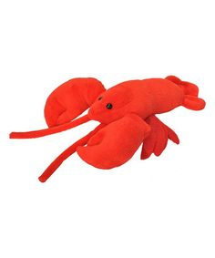 Another great find on #zulily! Lobster Plush #zulilyfinds