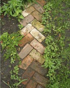 brick pattern edging