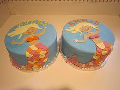 cute mermaid cake idea!!