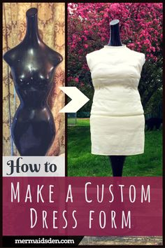 how to make a dress form fit