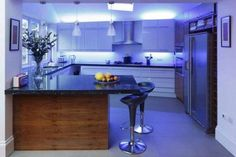 Iluminacin LED para cocinas