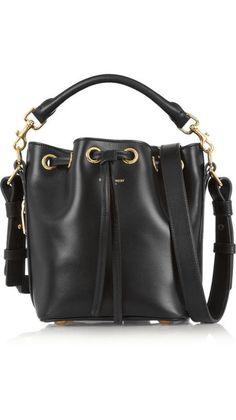 35e49add21fe  YvesSaintLaurent Emmanuelle Small Leather  BucketBag