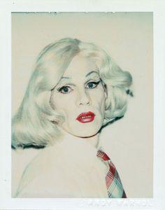 Andy Warhol, Self-portrait in Drag, 1981
