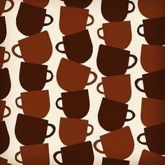 "Pattern design. No.163.""Coffee cup"" Coffee Cups, Pattern Design, Coffee Mugs"