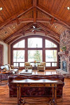Wisconsin Log Homes - Hybrid Log & Timber Frame Homes - National Design & Build Services - www.wisconsinloghomes.com