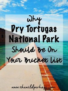 Dry Tortugas NP: Why You Must Visit  Dry Tortugas National Park I Key West Florida I Florida Keys I Incredible Beaches I Bucket List Travel