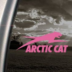 Amazon.com: Arctic Cat Pink Decal Snowmobile Car Truck Window Pink Sticker: Arts, Crafts & Sewing