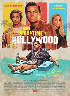 Once Upon a Time in Hollywood Print Photo Poster Wall Room Decor Art Gift Disney Movie Posters, Old Movie Posters, Classic Movie Posters, Original Movie Posters, Movie Poster Art, Poster Wall, Gig Poster, Retro Posters, Hollywood Poster