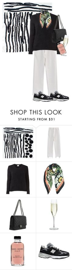 """""""Untitled #171"""" by frederikkematilder on Polyvore featuring Bianca Elgar, Rachel Comey, Dsquared2, Chanel, Bobbi Brown Cosmetics and New Balance"""