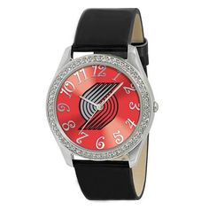 Men's Wrist Watches - Game Time NBA Glitz Series Watch PORTLAND TRAIL BLAZERS ** Read more reviews of the product by visiting the link on the image.