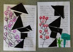 tangram chinois - ALL Pin Yayoi Kusama, Chinese New Year Activities, Chinese Crafts, Cultural Crafts, Art Chinois, New Year's Crafts, Ecole Art, Japanese Calligraphy, China Art
