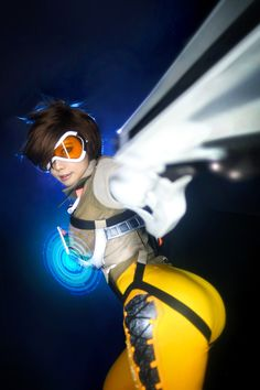 [BLIZZARD] OVERWATCH – Tracer | Spiral Cats
