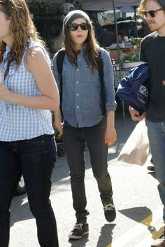 ellen page loving her style and loving her