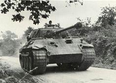 Panzer V Ausf A   Panther   в Нормандии  1944