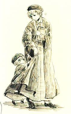 Hetalia (ヘタリア) - Norway & Iceland -「ほぐおらくがきまとめ・4と通販のお知らせ」/「いちず」の漫画 [pixiv]