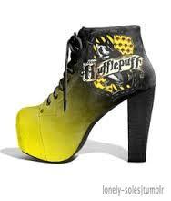 hufflepuff heels!!!