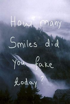 None :) how many smiles did you genuinely present today?