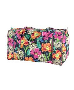 *** Jazzy blooms duffel (large or small) or the plain colored one with monogram