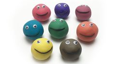 Learn Colours Play & Learn Colors with Play Dough Smiley Face Animals Mold Creative for Kids