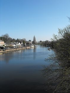 A view along the Dee in Chester.