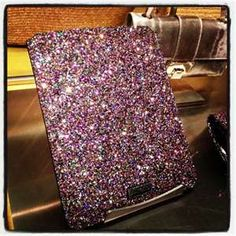 Jimmy Choo Glitter ipad case