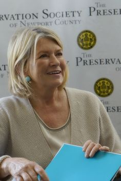 Martha Stewart at th