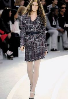 Chanel suits do not go out of style.  Autumn / Winter 2008.