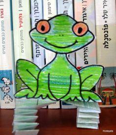 צפרדע קופצנית- יצירה לפסח Pesach/ passover