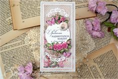 Lemoncraft: Urodziny i ślub z kolekcją House of Roses Extra / Birthday and a wedding with House of Roses Extra collection Cardmaking, Decorative Boxes, Scrapbooking, Roses, Birthday, Floral, Instagram Posts, Cards, Pink