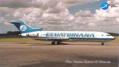 Gustavo Roberto D'Antiochia nos trae un recuerdo de #Ecuatoriana y el #Boeing727-200 en #Ezeiza