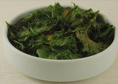oil-free kale chips (fat-free)