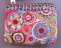 exuberant embroidery