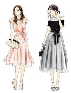 似合うドレススタイルがわかる!骨格別お呼ばれ服スタイル特集 | KIKONAS | あなたに似合うをお手伝い「キコナス」