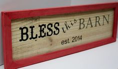 Pallet framed & personalized  BLESS this by GlampAndGritDesign