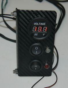 2CV Side Dash Volt Meter with switch lights reverse/fog UK Supplier