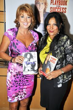 """Pam Grier and Nancy Lieberman Photos Photos - Pam Grier Autographs Her Book, """"Foxy: My Life in Three Acts,"""" in LA - Zimbio Foxy Brown Pam Grier, Nba Coaches, Quentin Tarantino Films, Photo Ed, Golden Globe Nominations, Jackie Brown, Press Tour, Successful Women, Film Music Books"""