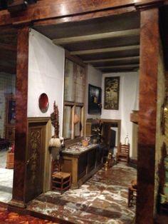 hallway in Petronella Oortman's Cabinet House - Rijkmuseum, Amsterdam