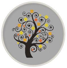 Tree Сross stitch pattern cross stitch pattern by MagicCrossStitch