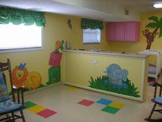 Church Nursery Themes | church nursery mural church nursery mural church nursery mural the ...