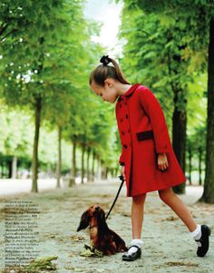 French Vogue doxie