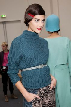 Cacharel Fall 2012 - Backstage