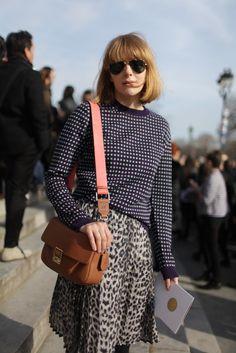 They Are Wearing: Paris Fashion Week WWD.com
