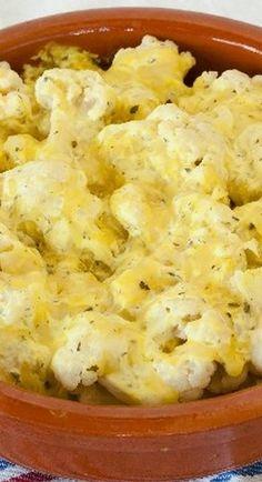 "Cauliflower ""Mac"" and Cheese Casserole"