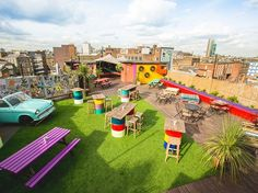 Queen of Hoxton | 17 London Rooftop Bars You Must Visit Before You Die