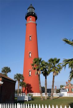Ponce de Leon Inlet Lighthouse, Florida  This is the tallest lighthouse in FL!