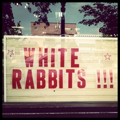 I say White Rabbits! White Rabbits! White Rabbits! on the first day of the month for good luck. It's a fun 3-generation family tradition.